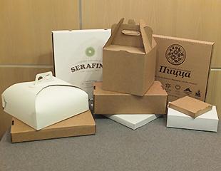 коробки для пирожных оптом в спб